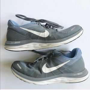 Nike Light Blue & Gray Dual Fushion Running Shoe